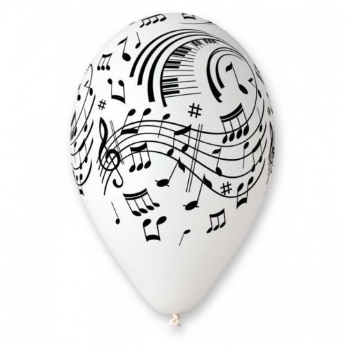 6 Palloncini Note Musicali