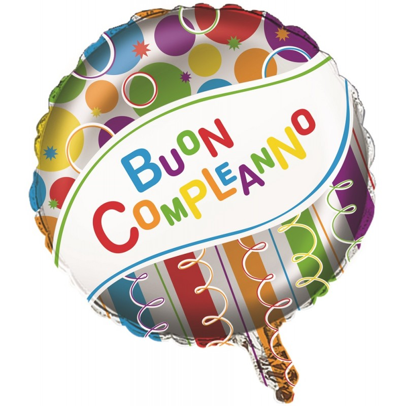 Palloncino Festa Buon Compleanno