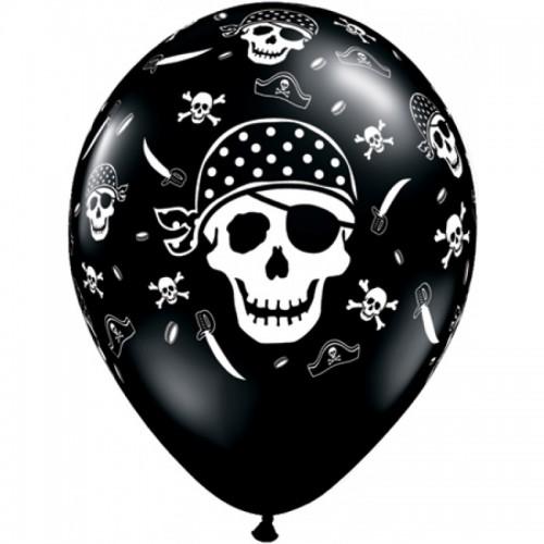 6 Palloncini Pirati