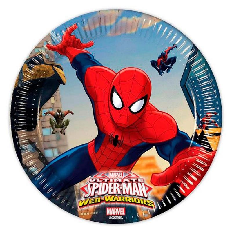Piattini Spiderman