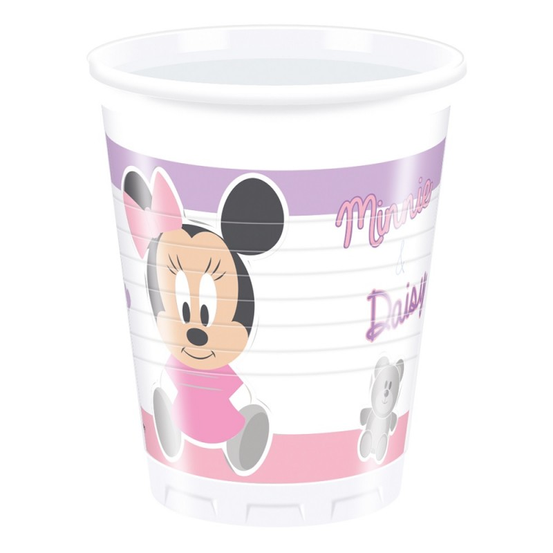 8 Bicchieri Disney Baby Minnie