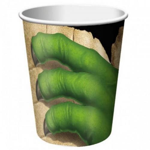 8 Bicchieri Festa Dinosauri