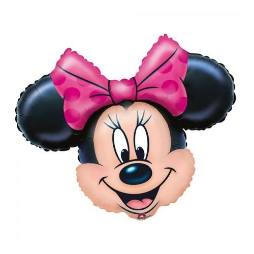 Palloncino testa Minnie foil