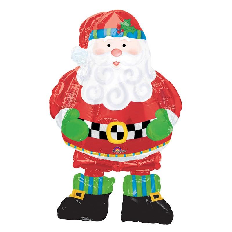Palloncino Airwalker Babbo Natale