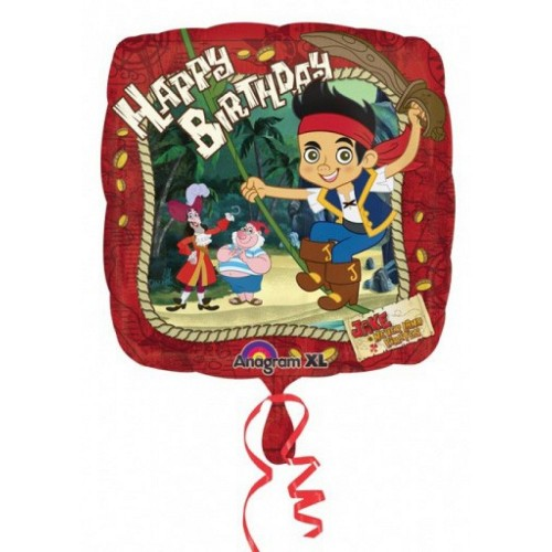 Palloncino Jake il Pirata Happy Birthday