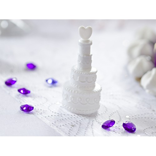 Bolle di Sapone Matrimonio Torta Cuore