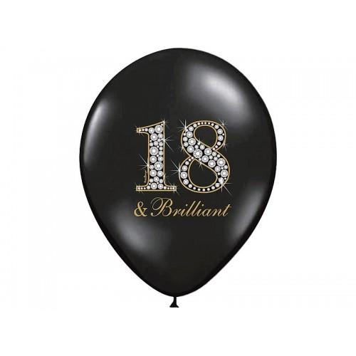 6 Palloncini 18 Anni