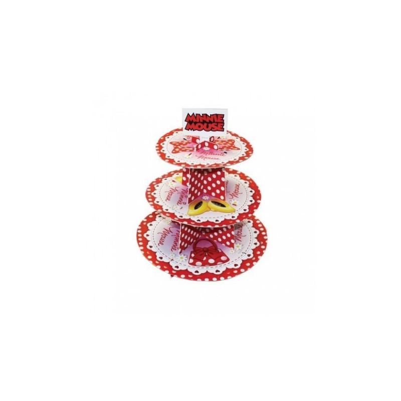 Alzata Porta Muffin Cupcake Festa Minnie