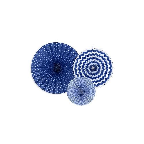 3 Rosoni Decorativi Blu
