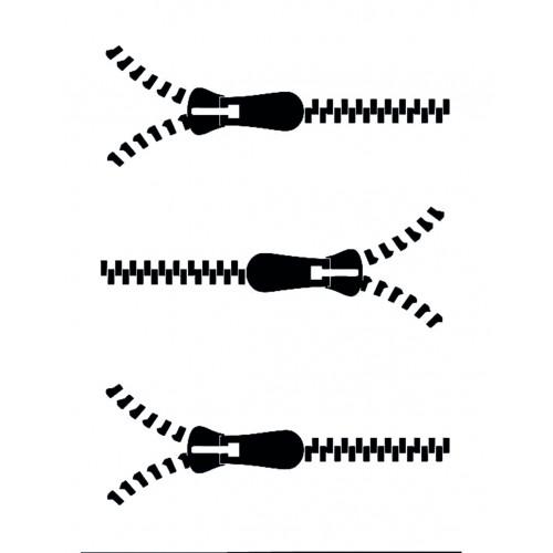 Sagoma per decorazione Viso-Zip
