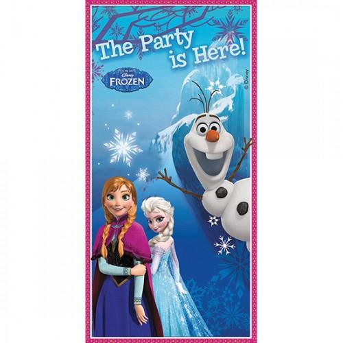 Decoro Porta in plastica Festa Disney Frozen