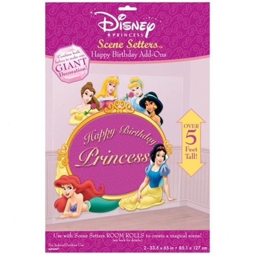 Scenografia da Muro Festa Principesse Disney
