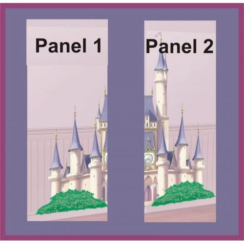 Scenografia da Muro Castello Principesse Disney