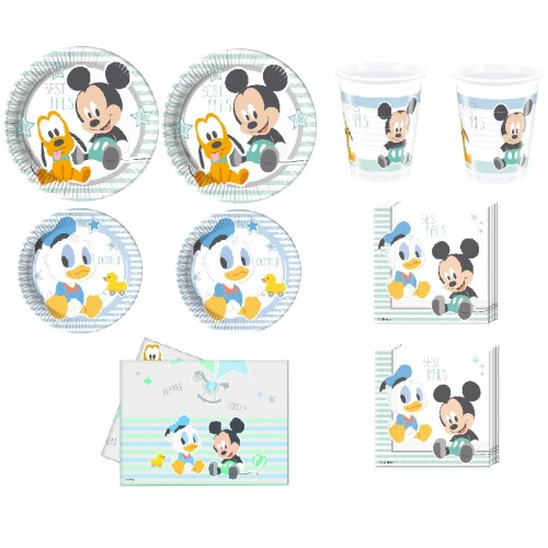 Kit Festa Disney Baby Boy x16 Persone