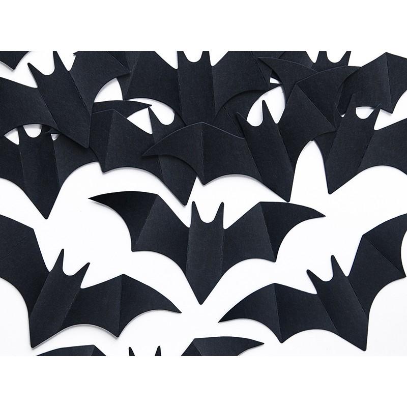 10 Confetti Decorativi Pipistrelli