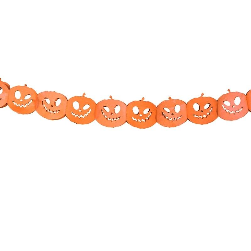 Festone Ghirlanda Zucca di Halloween