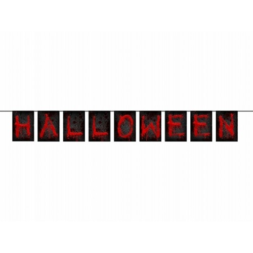 Festone Bandierine Halloween
