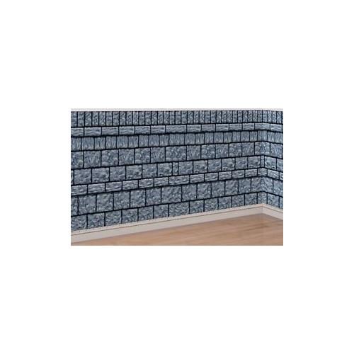 Scenografia muro di pietra 15 metri