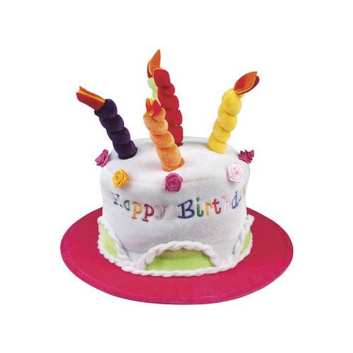 Cappello Happy Birthday Torta con Candeline