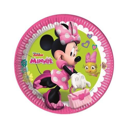 8 Piatti Festa Minnie
