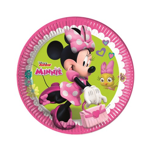 8 Piatti Disney Festa Minnie