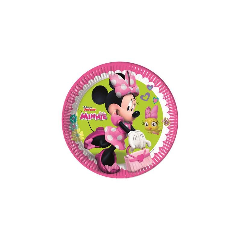 8 Piatti Disney Minnie