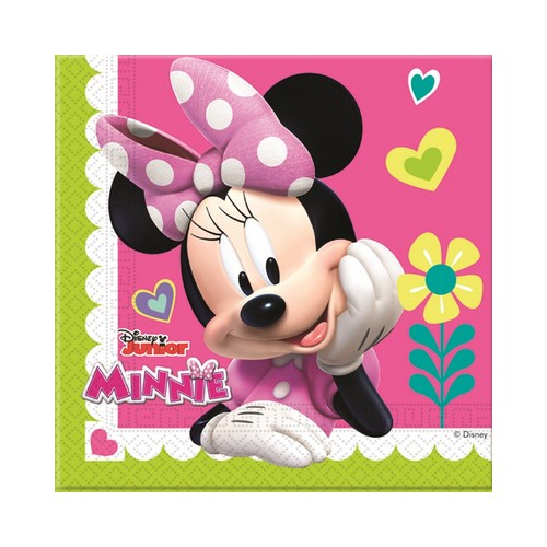 20 Tovaglioli Festa Minnie