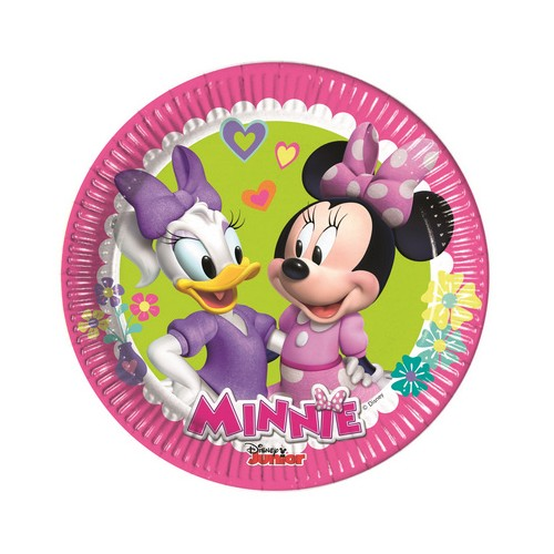 8 Piattini Disney Festa Minnie