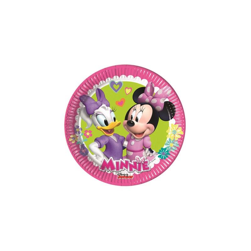8 Piattini Disney Minnie