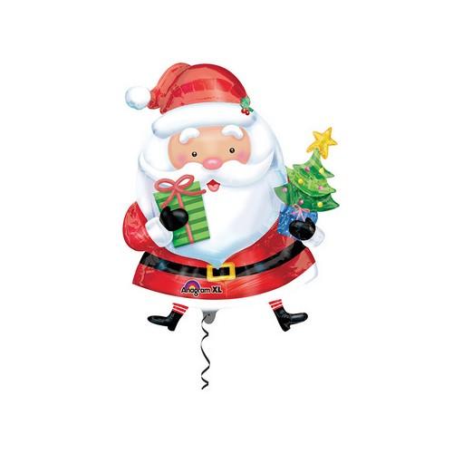 Palloncino a Forma di Babbo Natale 78cmx66cm