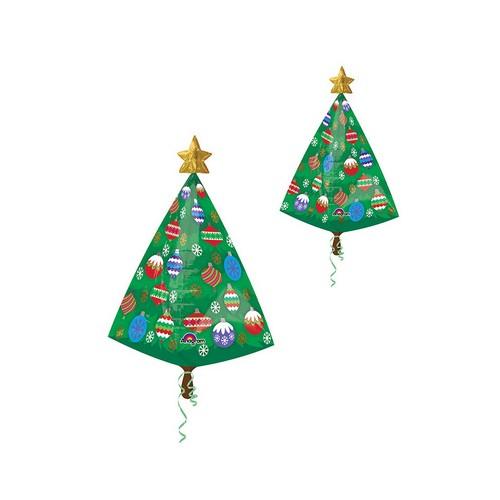 Palloncino a Forma di Albero di Natale 73cm