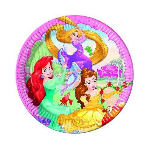 8 Piatti Festa Principesse