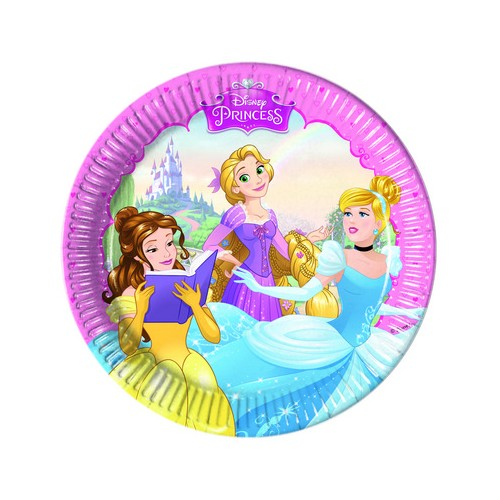 8 Piattini Festa Principesse