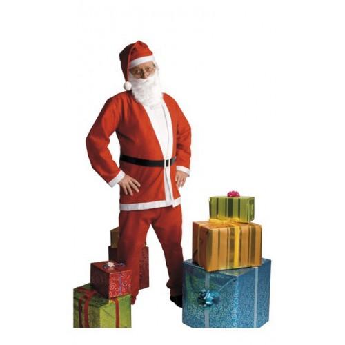 Vestito di Babbo Natale Adulto taglia unica
