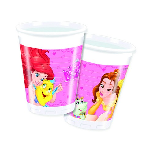 8 Bicchieri Festa Principesse