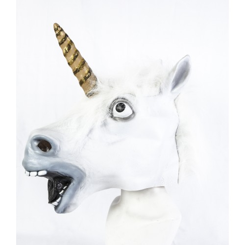 Maschera da Unicorno in Lattice
