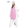 Costume Pigiama Unicorno Rosa Adulto