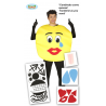 Costume Emoticons da Adulto
