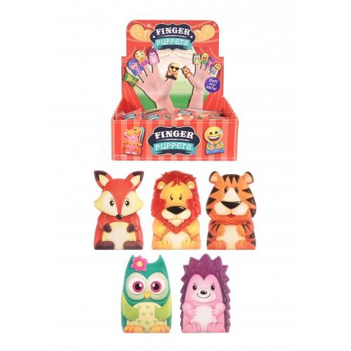 Marionette da Dito Animali Assortiti