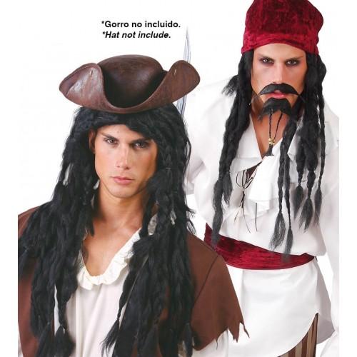 Parrucca Pirata Uomo