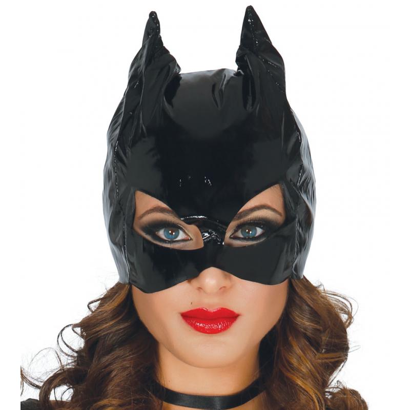 Trucco Halloween Catwoman.Maschera Da Catwoman