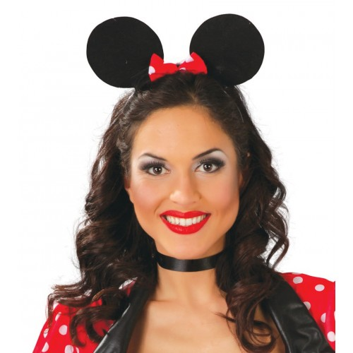Cerchietto Orecchie Minnie