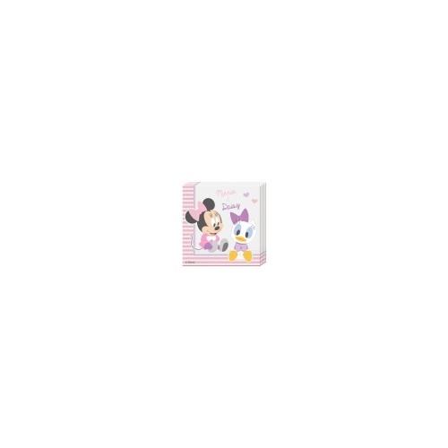 20 Tovaglioli Festa Disney Baby Minnie