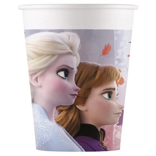 8 Bicchieri Disney Frozen 2