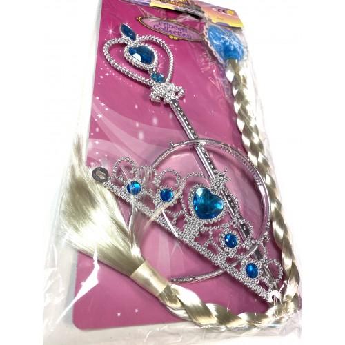 Kit Accessori Frozen Elsa