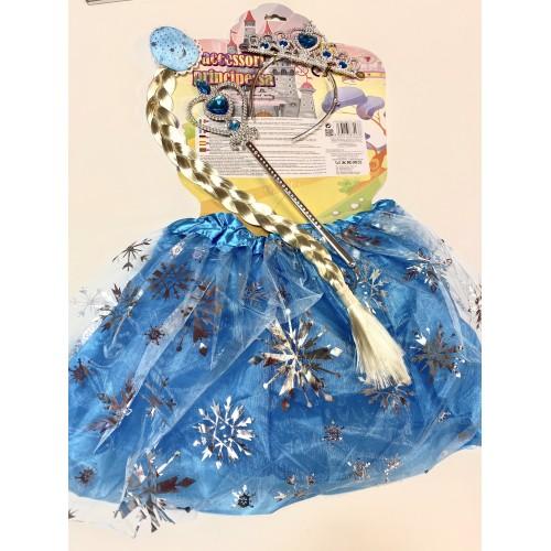 Kit accessori Frozen con gonnella tutù