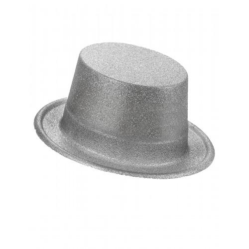 Cappello Glitterato Argento