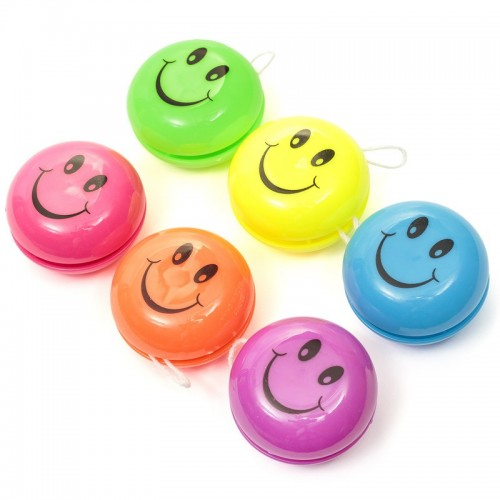 6 Mini Yo-Yo Sorridenti