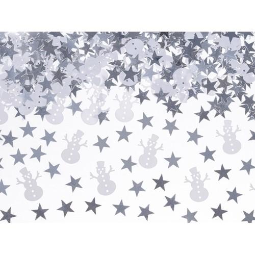 Confetti Tavola Pupazzo di Neve