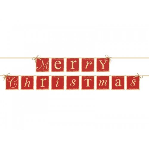 Festone Merry Christmas